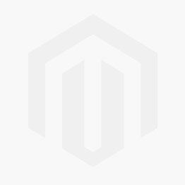 Sterling Silver Two Tone 25MM Hawaiian Plumeria with Clear CZ Design Pendant